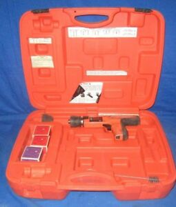 Ramset R25 25 Caliber Strip Load Powder Actuated Tool Kit Free Same Day Ship