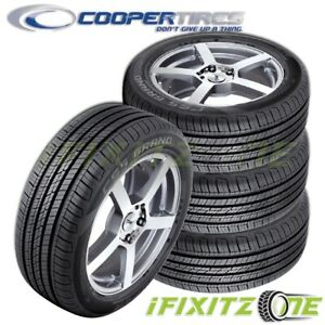 4 Cooper Cs5 Ultra Touring 225 50r17 94v All Season Real life Performance Tires