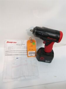 Snap On Ct4410a 3 8 Drive Cordless Impact Wrench 14 4 V W Battery Refurbis