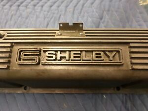1967 1968 Shelby And Mustang Big Block Ford Valve Cover Nice Real Deal One Only