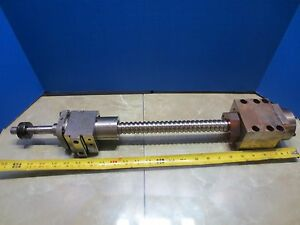 Brother Cnc Tapping Center Vertical Mill 25 Ball Screw Ballscrew