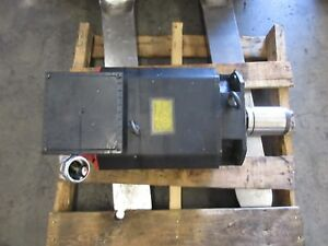 Fanuc Ac Spindle Motor 12s A06b 0756 b300 0100 Supermax Max 7 Cnc Mill Warranty