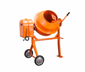 3 1 2 Cubic Ft Cement Mixer General Duty Handles Stucco Mortar And Concrete