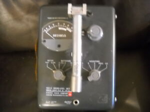 Vintage General Radio 1551 c Sound level Meter