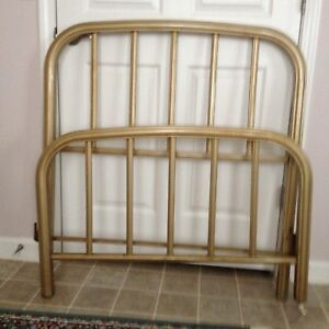Antique Brasstwin Bed Cast Iron Frame