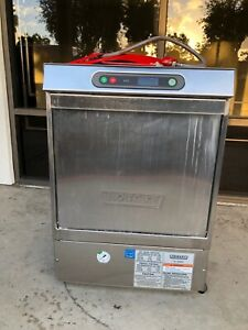 Hobart Lxi Series Commercial Dishwasher High Temp 120 240v Lxih Stainless Steel