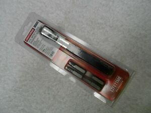 Craftsman 5pc Offset Ratcheting Screwdriver Bit Wrench Set Usa Part 47478