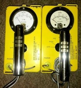 Two Non operational Cdv 700 no Gm Tubes Low Cost Ship 2 Meters 1 Time