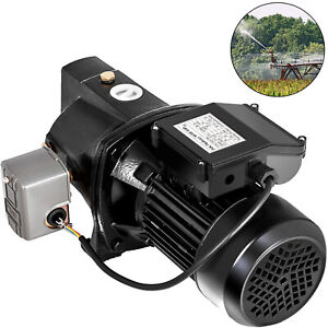 1 Hp Shallow Well Jet Pump W Pressure Switch 110v Shallow Well Jet Pump Water