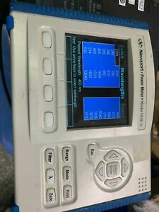 Used Good Newport 1918 c Laser Optical Power Meter xy 3u Ship By Express