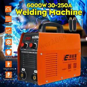 220v Pro Portable Igbt Electric Welding Machine Semi Auto Inverter Welder Tools