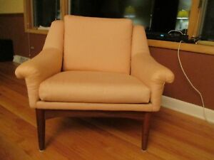 60 S Danish Modern Bramin Mobler Teak Lounge Chair Beautiful