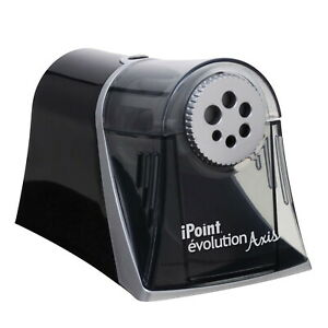 Westcott Ipoint Evolution Axis Electric Heavy Duty Multi Pencil Sharpener