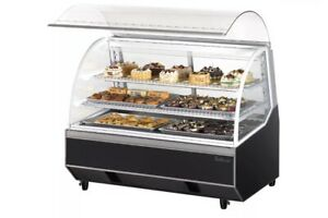 Turbo Air Tb4 48 quot Dry Bakery Case With High Density Pu Insulation Sloped Re