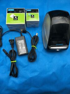 Dymo Labelwriter 450 Thermal Label And Postage Barcode Printer With Labels Bin 2