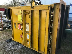 Gpi M60std Harmony 60 Vertical Cardboard Compactor Recycling Yellow Baler 460v