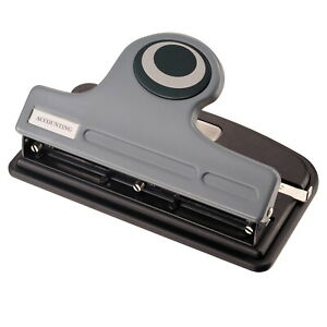 Officemate Eco Plastic 2 3 Hole Heavy Duty Punch With Paper Guide And Easy