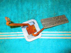 1972 Monte Carlo Gas Pedal Assembly Chevy Accelerator 1970 1971 Hot Rod Rat Rod