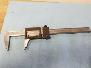 Brown And Sharpe 571 8 Inch Vernier Caliper