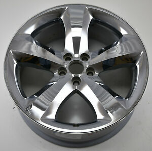 20 Dodge Challenger Charger Rt Chrome Used Wheel Rim Factory Oem 2411