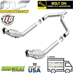 Magnaflow Direct Fit Fed Catalytic Converter For 2005 2010 Ford Mustang 4 0l