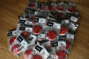 Lot Of 40 Truck lite Incandescent Red Round 4 Stop turn tail Lamp 12v 40202rp