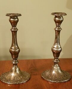 Gorham Chantilly Sterling Silver Candlesticks