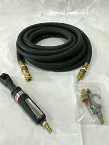 Pneumatic Air Tools Ingersoll 3 8in Edge Air Ratchet 25ft Air Hose And More
