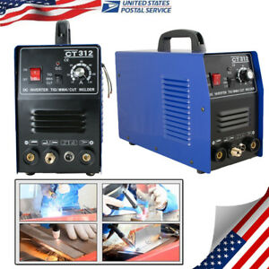 3 In 1 Plasma Cutter Tig Mma Welder Cutting Welding Machine Ct312 Blue Usa Sale