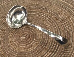 7 1 2 Heavy Silverplated Ladle By Gerity 1981 Vintage