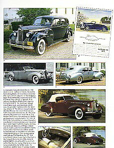 1940 Packard Darrin 110 120 180 Article Must See Convertible