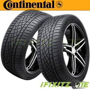 2 X New Continental Extremecontact Dws06 225 50zr17 94w Tires