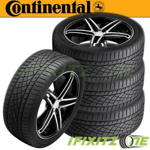 4 X New Continental Extremecontact Dws06 225 50zr17 94w Tires