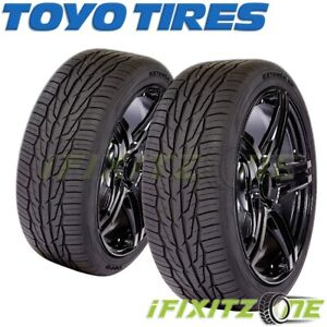 2 X New Toyo Extensa Hp Ii 235 45r17 97w Tires