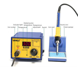 110v 220v Yihua 939d Soldering Station Constant Temperature Soldering Iron 480