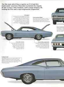 1968 Chevy Impala Ss 427 Article Must See