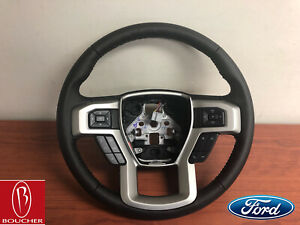 Ford Oem 17 19 F 250 F 350 Steering Wheel No Heat With Cruise Hc3z3600eb