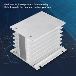 Aluminum Alloy Heat Sink Solid State Relay Ssr Radiator For Three Phase New