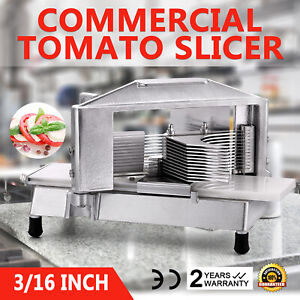 Commercial Tomato Slicer Cutter 3 16 Industrial Shaper Cutting Machine Home