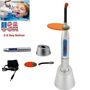 Fda Dental 10w Wireless Cordless Led Curing Light Lamp Machine 2000mw Usa