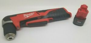 Milwaukee 2415 20 M12 12v Lithium Ion Cordless 3 8 Right Angle Drill