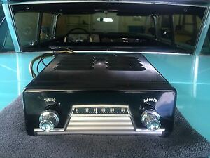 1958 Lincoln Travel Tuner Fm Radio System Extremely Rare Factory Dealer Option