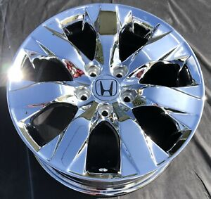 4 New Chrome 17 Honda Accord Oem Wheels Rims Civic Pilot Odyssey 63934