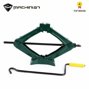 Machinist 1pc set 0 75ton Car Foldable Folding Handle Scissor Jack Car