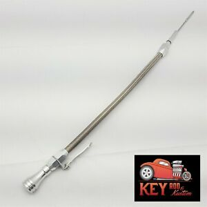 Ls Car Engine Flexible Oil Billet Dipstick Aluminum Stainless Steel Ls1 Ls2 Lsx