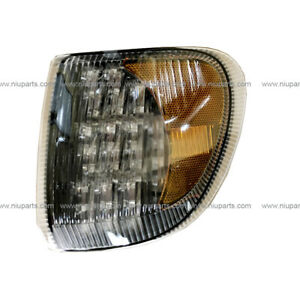 Corner Lamp Led 31 Diodes Clear Amber Lh Fit International 9200 9400 5900