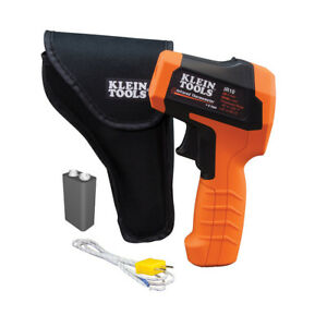 Klein Tools Ir10 20 1 Dual Laser Infrared Thermometer W Case