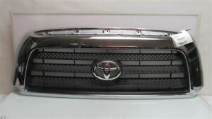Toyota Tundra Grille 531000c150 Upper Grill Oem 2010 2011 2012 2013