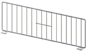 Grocery Store 23 l X 6 h Divider Gondola Shelf Chrome lozier Madix Lot Of 50 New