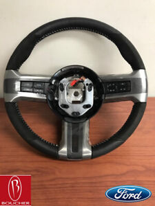 Ford Oem 2012 Mustang Shelby Gt500 Steering Wheel Cr3z3600ab